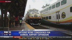 Options being considered for Sunrail airport expansion