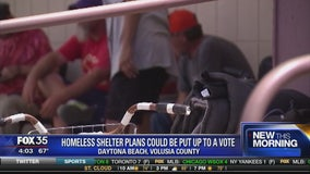 Volusia County homeless shelter plans could be put up to a vote