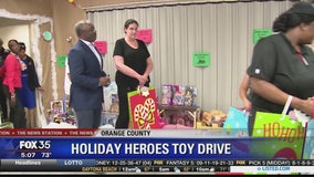 Holiday Heroes Toy Drive