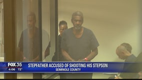 Stepfather accused of shooting his stepson