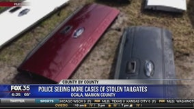 Police seeing more cases of stolen tailgates