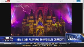 New Disney fireworks show debuts on Friday