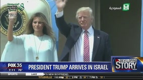 President Trump arrives in Israel: Mike Haridopolos discusses