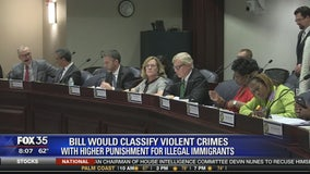 Bill would classify violent crimes with higher punishment for illegal immigrants