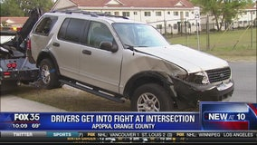 Drivers get into fight at intersection