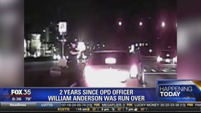 2 years since OPD officer: William Anderson was run over