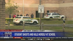 Student shoots and kills herself at Lake Mary High School