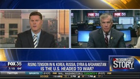Rising tension in North Korea, Russia, Syria, and Afghanistan: Is the US headed to war? with Retired Military Col Jay Voorhees