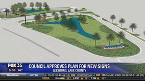 Council approves plan for new signs in Leesburg