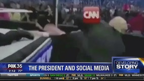 The President and social media