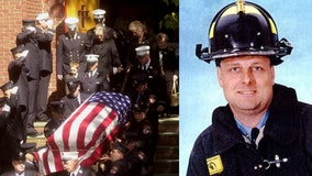 Memorial held for firefighter killed on 9/11 after more of his remains identified 18 years later