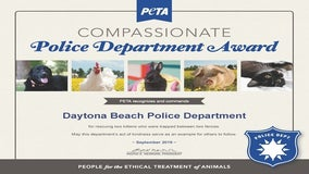 Local law enforcement recognized by PETA
