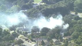 Brush fire breaks out in Apopka