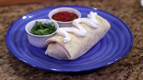 Recipe: Buffalo burritos