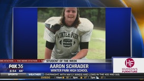 Student of the Week: Aaron Schrader