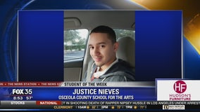 Student of the Week: Justice Nieves