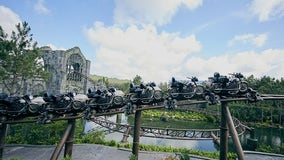 Harry Potter-themed coaster at Universal Orlando Resort closes after backstage fire