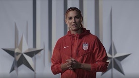 Alex Morgan hopes to play in 2020 Olympics, just three months after childbirth