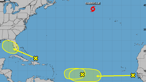 Tuesday marks the official peak of the Atlantic hurricane season, 4 systems being monitored