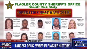 'Operation Heat Wave' nabs 40 accused drug dealers in Flagler County