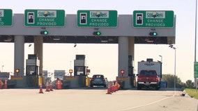 Tolls lifted on stretch of turnpike amid bridge work