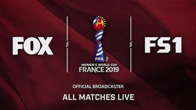 2019 FIFA Women's World Cup schedule: How to watch on FOX, FS1 and FOX Sports App