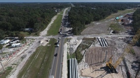 Lanes closures planned for Wekiva Parkway work