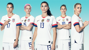 USWNT jersey is Nike's best-selling in a single season — more than any other soccer team
