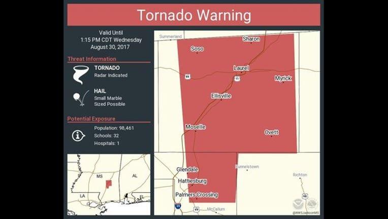 1a3a6cea-Mississippi homes now damaged by Harvey spawned tornados-408795.jpg