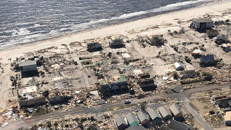 Hurricane Michael coastal destruction UCBP-401385
