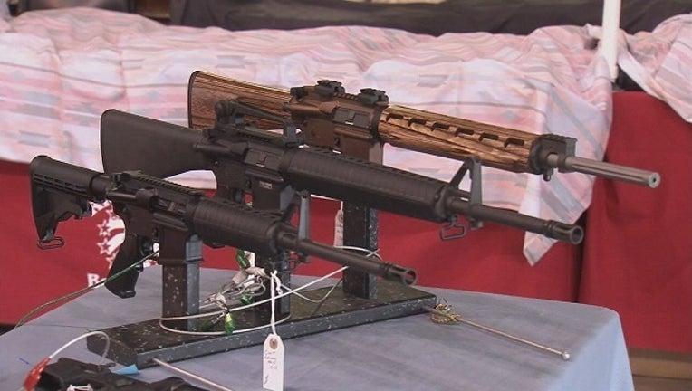 AR-15 riffle-401096