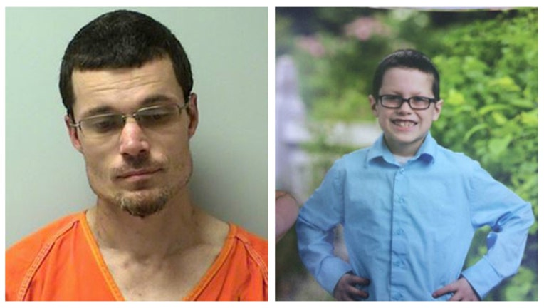 Amber Alert - Jamie Hunt is believed to have kidnapped his son, Jaiden, and police say the dad has a weapon-404023.