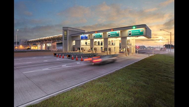 E-PASS Toll Plaza