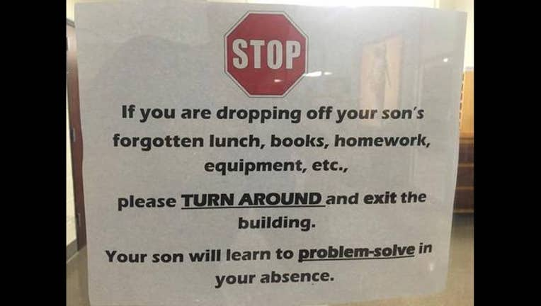 High school's viral sign turns away parents_1471531216491-65880.jpg