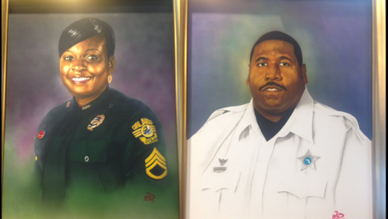 portraits fallen officers markeith loyd