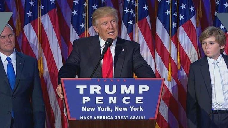 President elect Donald Trump 110916-401720