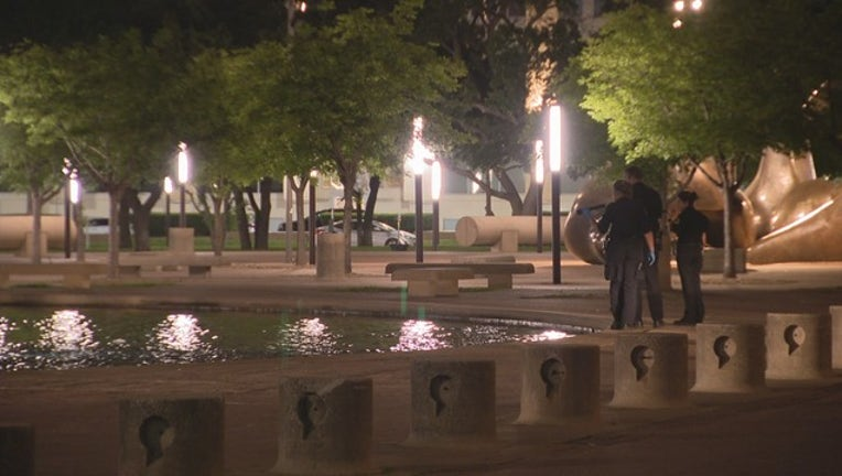 02d03731-DALLAS CITY HALL FOUNTAIN DROWNING-409650