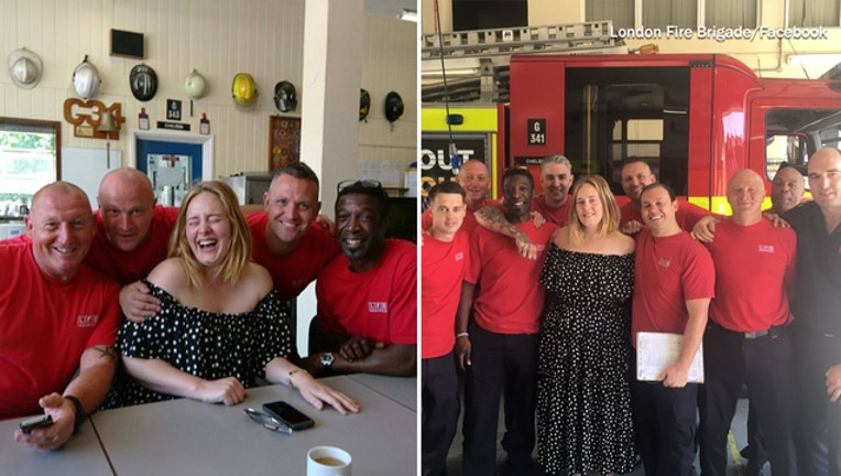 a6297961-Adele visits Grenfell Tower firefighters-401720