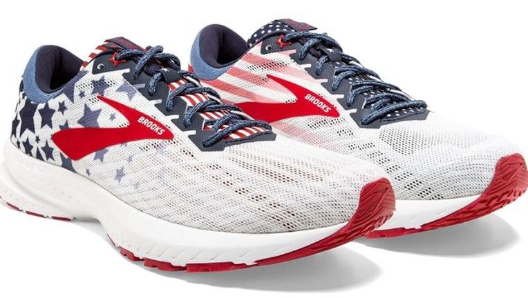 American flag shoe
