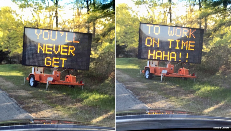 Roadside-message board in Prince George's County-401720