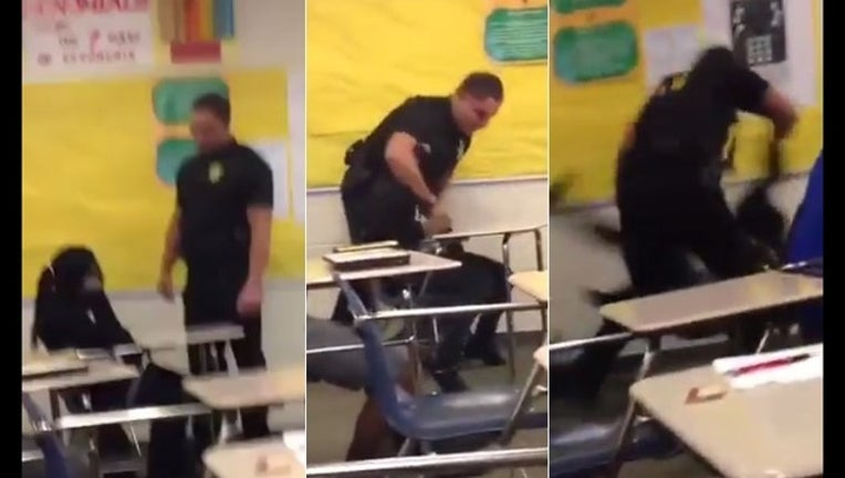 a4a0f8b9-Officer tossing student in classroom