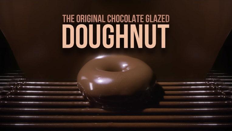 Krispy Kreme solar-eclipse doughnut-401720