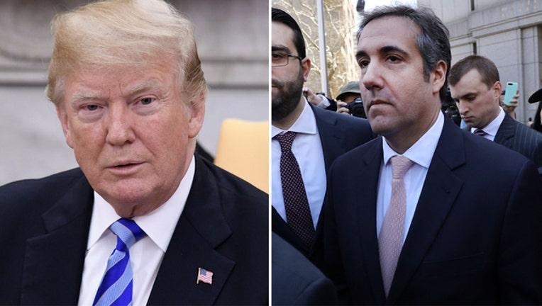 Trump Cohen (GETTY IMAGES)-401720