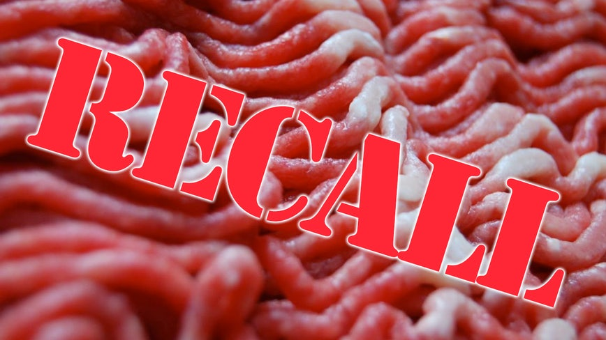 Over 64,000 pounds of raw beef products recalled over E. coli contamination