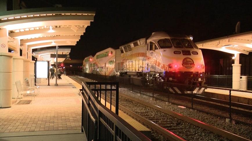 SunRail train fatally strikes pedestrian in Altamonte Springs, police say