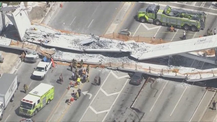 NTSB blames Miami bridge fall on design, lack of oversight