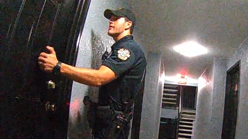 Sergeant disciplined for telling Officer Kevin Valencia to kick-in door before he got shot
