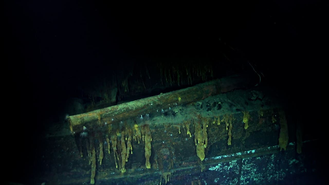 Wreck of Japanese aircraft carrier sunk in Battle of ...