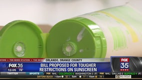 Proposed bill could require prescription for most sunscreens