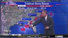 Nestor zeroing in on Florida Panhandle coast